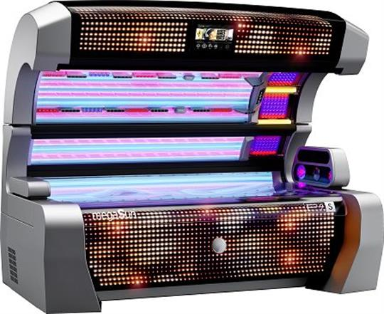 megaSun P9 - the best sunbed